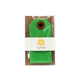 Image of Dark Green Gift Tags