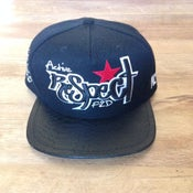 Image of CUSTOM LEATHER BRIM F2D x ACTIVE HK SNAPBACK