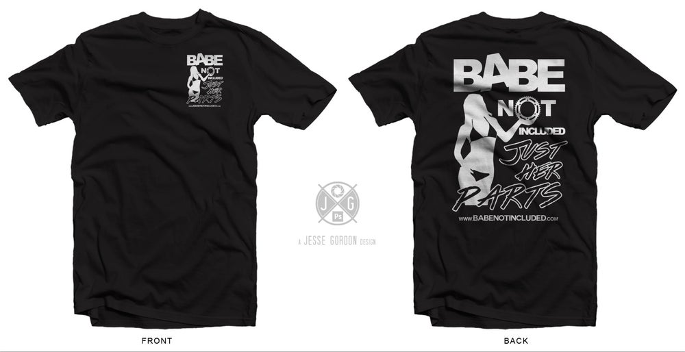 "Image of Black & White ""Shop Shirt"""