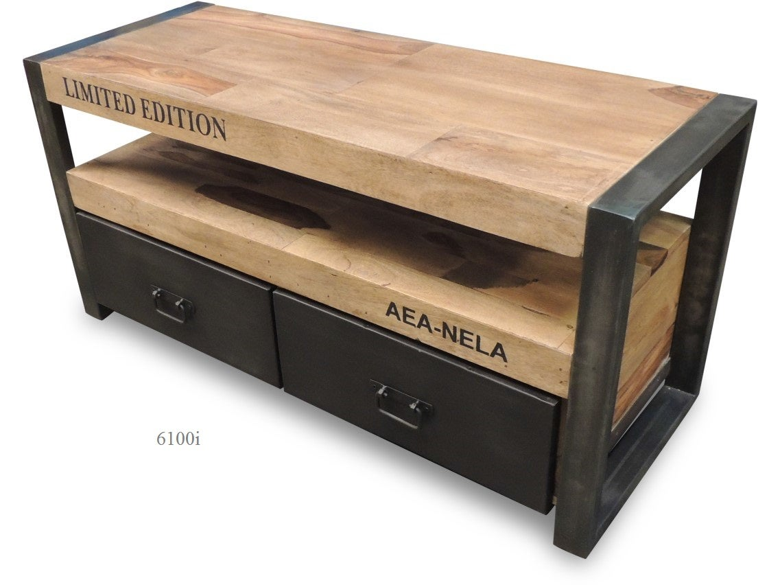 Tv Stand 6100i  industrialdesign -> Meuble Tv Pied Metal