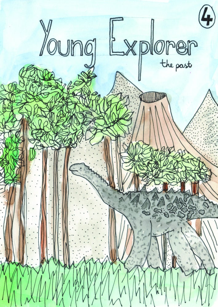 Image of Young Explorer issue 4 - The Past