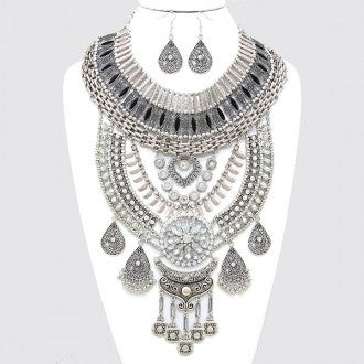 Image of Cleopatra Bib Necklace