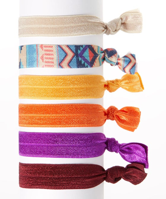 Image of Autumn Hair Tie 6 Pack