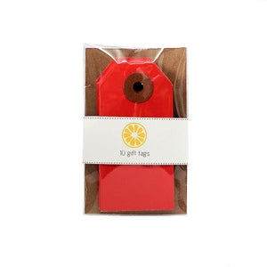 Image of Red Gift Tags