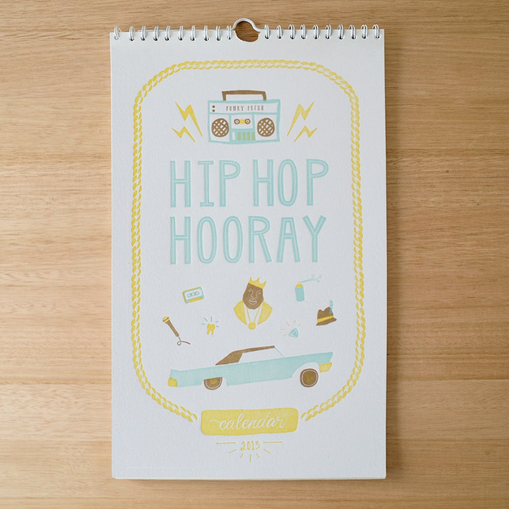 Image of Hip Hop Hooray - 2015 Charity Calendar