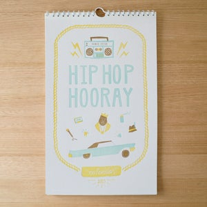 Image of Pre-Order Hip Hop Hooray - 2015 Charity Calendar