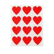 Image of Red Heart Stickers