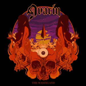 Image of Avarin - The Wasteland (CD)