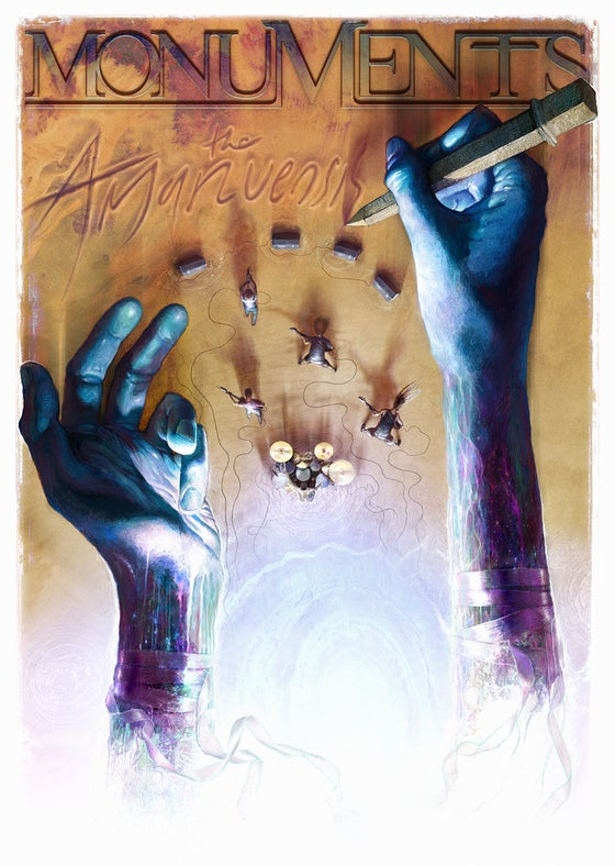 Image of MONUMENTS - Storytellers Poster