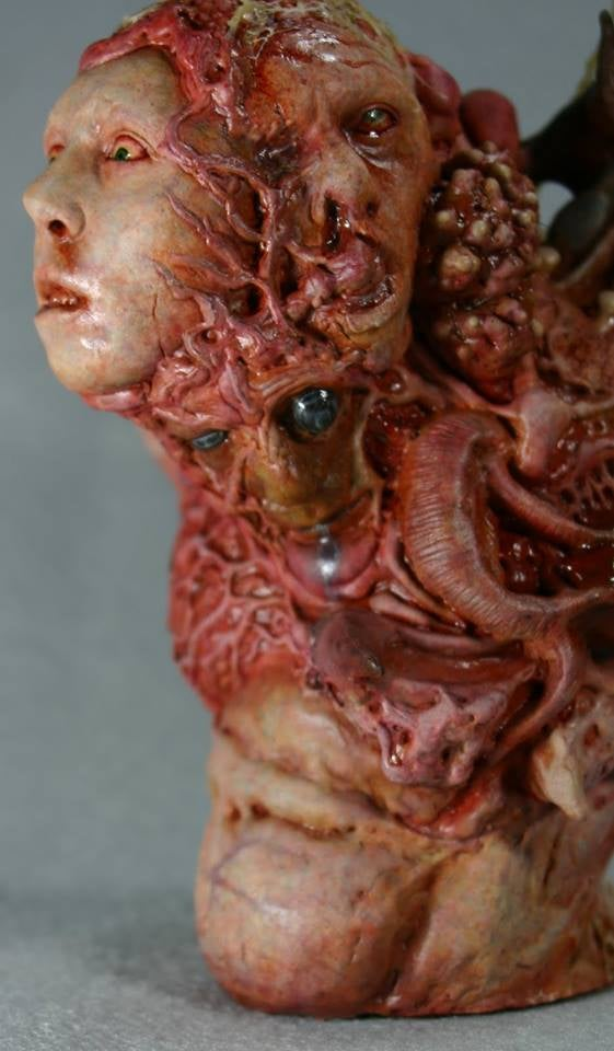 Image of Norm's SLE Syndrome Bust resin kit, only a few left!