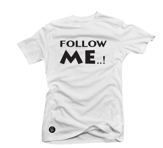 Image of EWTee® FOLLOW ME..! Social Media Collection B&W
