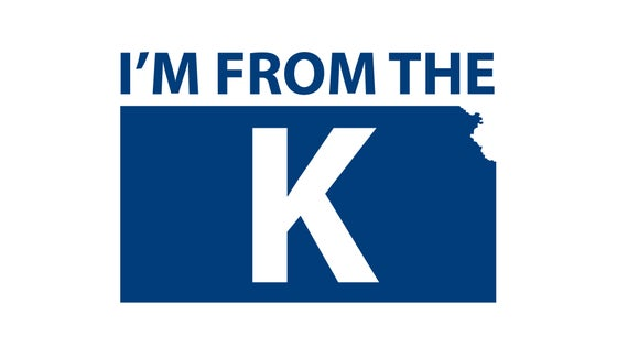 "Image of ""I'm from the K"" Standard Crew Neck Tee [WHT/BLU]"