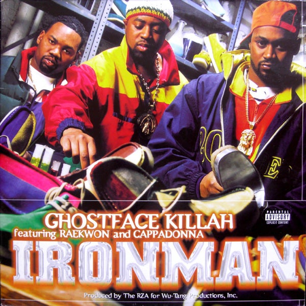 Image of GHOSTFACE KILLAH-IRONMAN