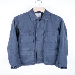 Image of Visvim - Navy Damaged Kilgore Jacket