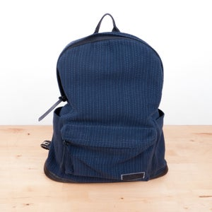 Image of Patrik Ervell - Braided Horsehair Strap Sashiko Cloth Daypack