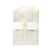 Image of Mini Gray Grid Bags