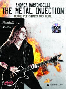 Image of Andy Martongelli - The Metal Injection (Instructional Guitar Book / DVD)