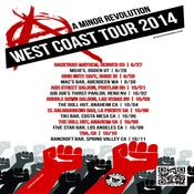 Image of AMR 2014 West Coast Tour tees!