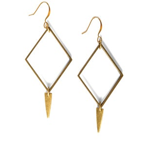 Image of Square Bangle Earrings