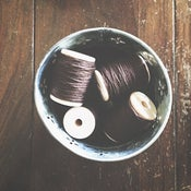 Image of Dark Brown Solid Twine