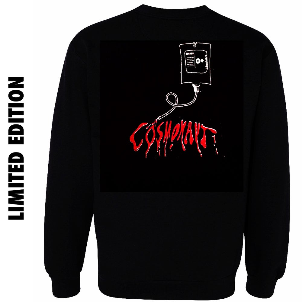 Image of Blood Bag Logo - Hoodless Sweatshirt