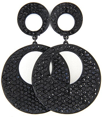 Image of CLIP ON Earring in Black