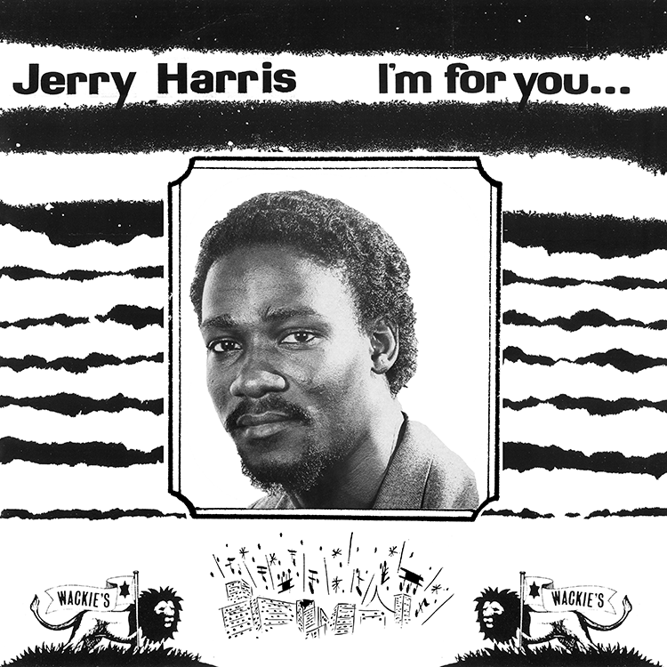 Image of Jerry Harris - I'm For You, I'm For Me Showcase LP (Wackie's)