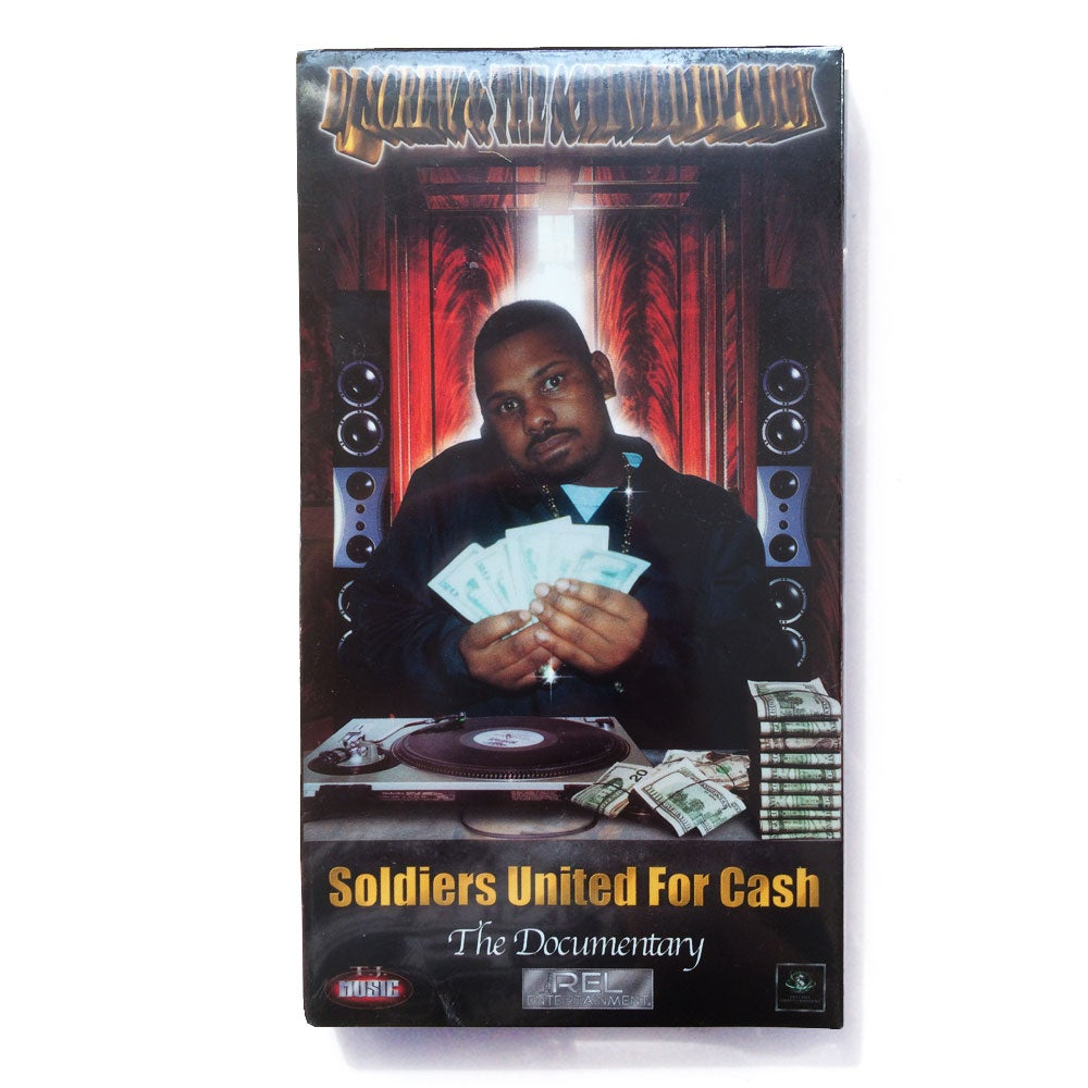 Image of DJ SCREW & SCREWED UP CLICK: SOLDIERS UNITED FOR CASH [VHS]
