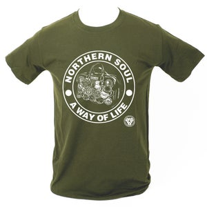 Image of 'A Way Of Life' T-Shirt. MILITARY GREEN