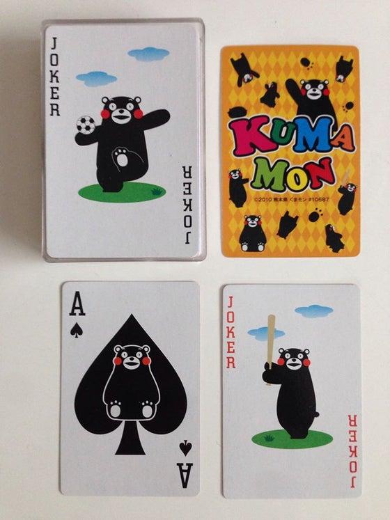 Image of Kumamon Playing Cards