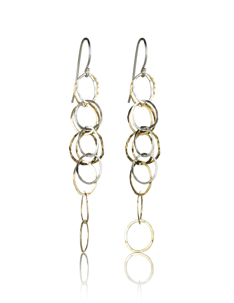Image of Pebbles Drop Earrings
