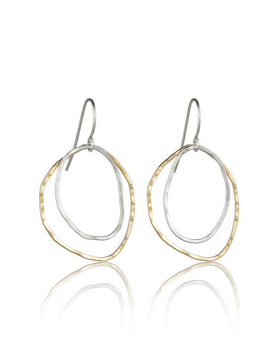 Image of Two River Rocks Earrings