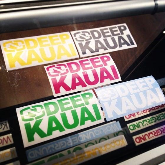 Image of DeepKauai STACKED LOGO Sticker