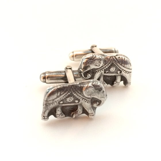 Image of Elephant Cuff Links