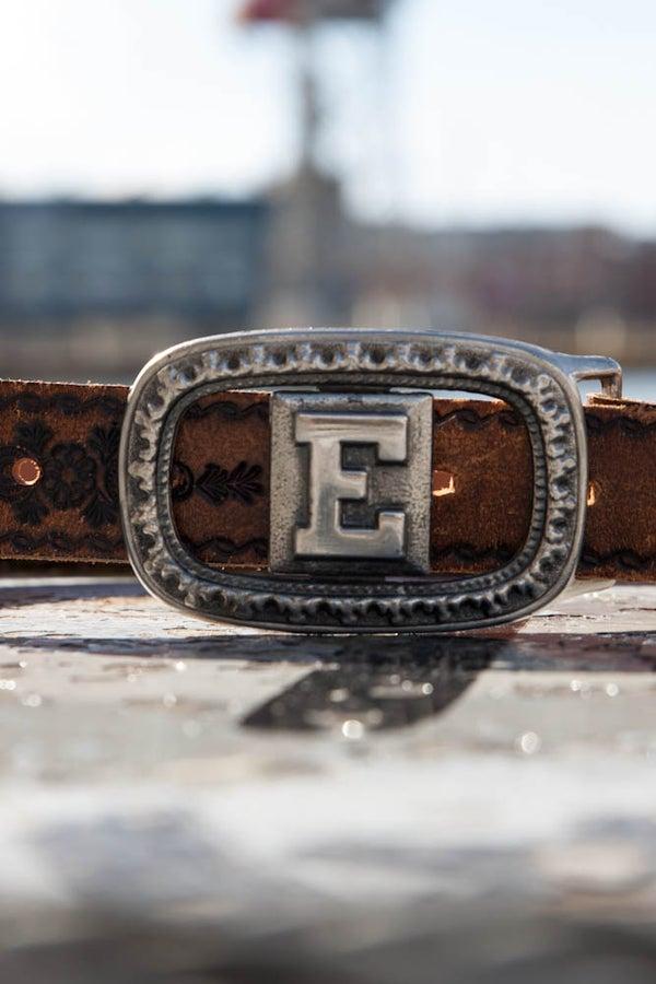 Image of Vintage Southwestern Leather Belt