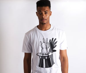 Image of Shadow Puppet Tee White