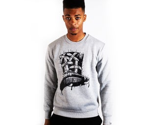 Image of Insane Gentlemen x ScientisTechni Jumper Grey