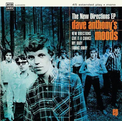 Image of Dave Anthony's Moods - The New Directions EP 7""