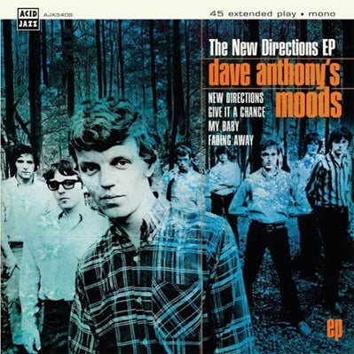 Image of Dave Anthony's Moods - The New Directions EP Rare Mod!