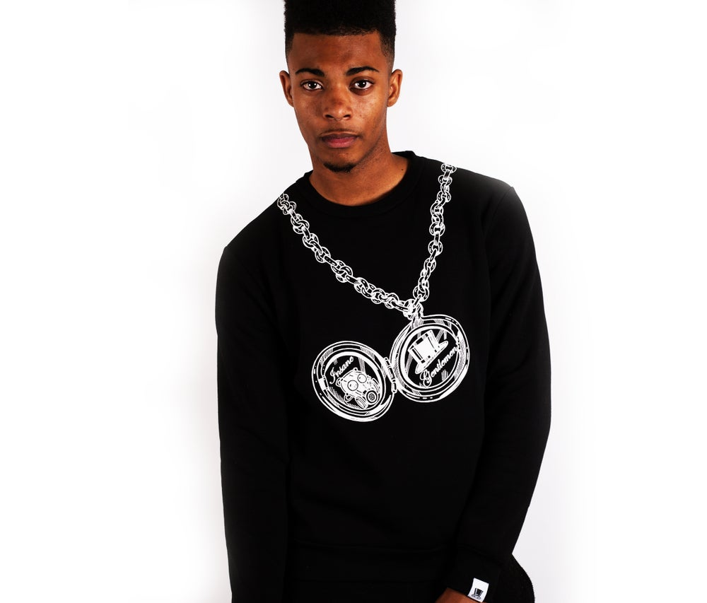 Image of Pocket Watch Jumper Black