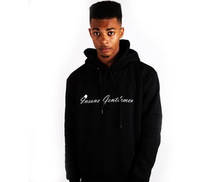 Image of Insane Gentlemen Original Hoodie Black