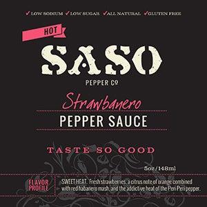 Image of Strawbanero Pepper Sauce