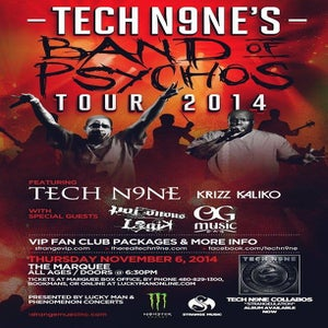 Image of Tickets to see OGmusic's Blazie-D & Snakey McVay w/ TechN9ne 11/6 @ Marquee Theater