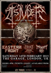 Image of TSJUDER (NOR) Debut UK Exclusive show! w/ Eastern Front & more @ The Garage, London [e-Ticket]