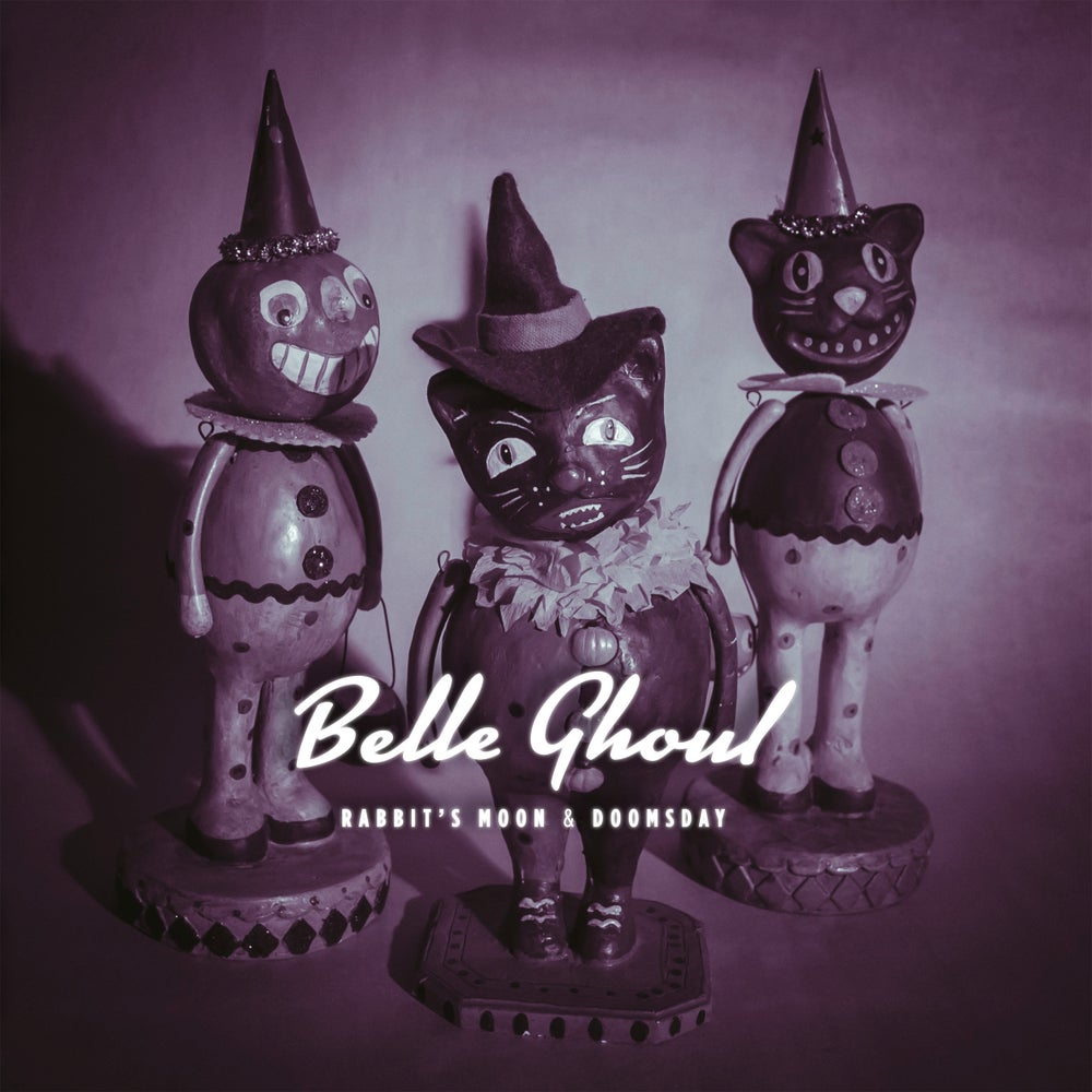 "Image of BELLE GHOUL - Rabbit's Moon & Doomsday (Ltd edition white 10"" vinyl w/free MP3 download)"