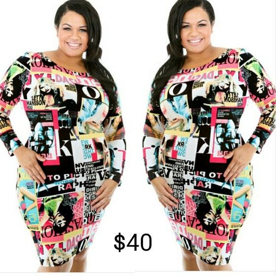 Image of Fashion Magazine Dress
