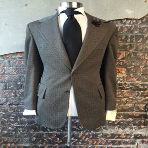 Image of Hunter Green Plaid Suit