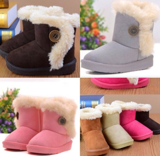 Image of Girls Fur Boots