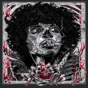 Image of Bad 2the Bonez - art print - 'VOODOO CHILD'