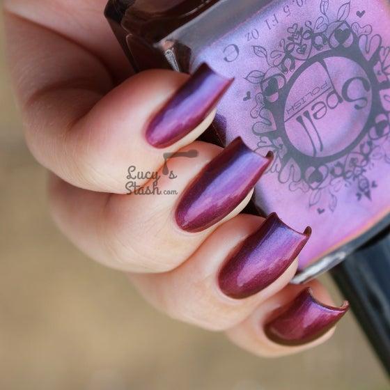 Image of Magichromes™ SPELL POLISH ~Smile Transference~ color shifting nail polish